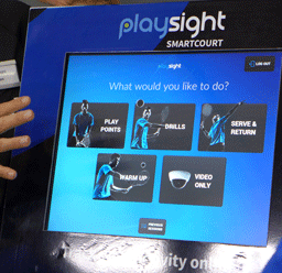 Impressionen Kooperation PlaySight - PlaySightCoach