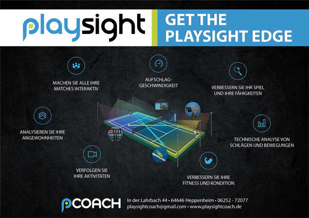 PlaySight Update auf dem Smart Court