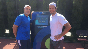 Tommy Haas Förderer PlaySight